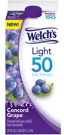 Welch's Juice Coupon = 1 Dollar Welch's Light 50 Juice Cocktail at Walmart!
