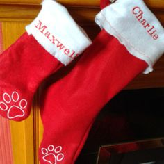 Personalised Dog Christmas Stocking | Waggy Campers