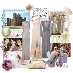 downton abbey inspired clothing | Downton Abbey Inspired Fashion Evident in Spring Lines gowns