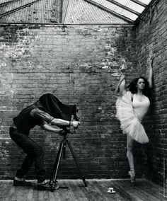 Mark SELIGER :: Self-Portrait for The Lavazzers [Lavazza calendar :: August Misty Copeland Misty Copeland, Photographer Self Portrait, Mark Seliger, Tv Movie, American Ballet Theatre, Ballet Theater, Dance Like No One Is Watching, Ballet Photography, Ballet Beautiful