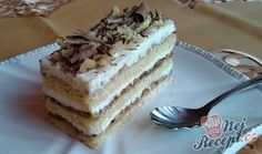 Sweet Cakes, Tiramisu, Food And Drink, Sweets, Ethnic Recipes, Drinks, Sheet Metal, Drinking, Beverages