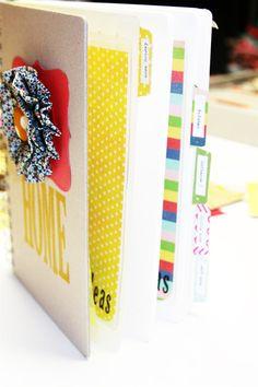 amazing washi tape home binder