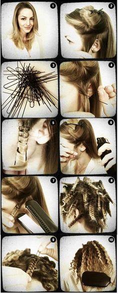 hair tutorial | Tumblr - for RockyHorror