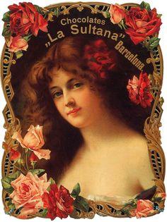 Vintage Labels, Vintage Postcards, Vintage Ads, Vintage Prints, Vintage Photos Women, Vintage Images, Poster Ads, Advertising Poster, Beautiful Mexican Women