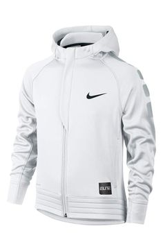Nike 'Elite' Stripe Hoodie (Little Boys & Big Boys) Sweatshirts Nike, Boys Hoodies, Nike T Shirts, Nike Outfits, Sport Outfits, Cool Outfits, Hoodie Outfit, Nike Trainer, Nike Tech Fleece Windrunner