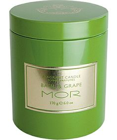 Basil & Grape Scented Candle