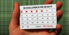 It takes 30 days to form a habit, good or bad...I think I need a new good habit.  I need to try one of these!
