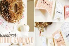 gratitude garland free download