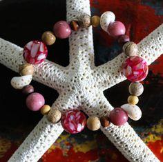 Drift Away ~ Island Beach Style Bracelet by Nancy Yuskaitis