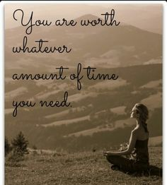This is so true.  We need to value ourselves enough to give time to nurture ourselves.  becbraid.com