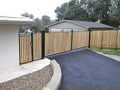 Wood Privacy Fence Gate Designs
