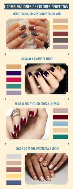 An amazing and complete guide to a flawless manicure Winter Nails, Spring Nails, Summer Nails, Fall Nails, Christmas Nail Designs, Christmas Nail Art, Cute Nails, My Nails, New Years Eve Nails