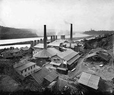 Praha-Podolí | Původní cementárna na místě dnešní plovárny