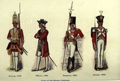British old infantry uniforms - Red coat (British Army and Royal Marines) - Wikipedia