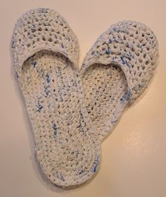 Recycled Plastic Bag Sandals