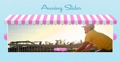 Pink and Blue Awning Image Slider PSD - http://www.welovesolo.com/pink-and-blue-awning-image-slider-psd/
