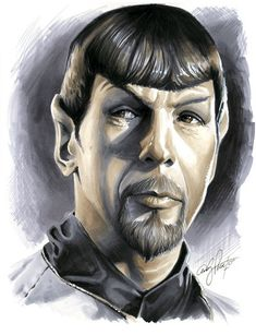 Mirror Spock, by andypriceart on deviantART