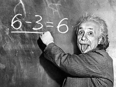 """Einstein Quotes:  Do not worry about your difficulties in Mathematics. I can assure you mine are still greater.   Imagination is more important than knowledge...   Not everything that counts can be counted, and not everything that can be counted counts."""""""