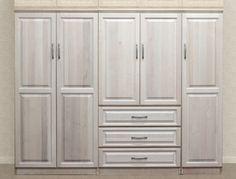 Raised Panel Wall Closet System 3 Piece Set | Raised Panel, Panel Walls And  Raising