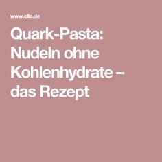 Quark-Pasta: Nudeln ohne Kohlenhydrate – das Rezept