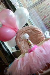 "Sweet B/Pink / Birthday ""Bella's 1st Birthday"" | Catch My Party"