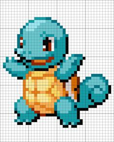marvelcomics doctorwho squirtle sherlock startrek pokemon batman 7 Squirtle Squirtle You can find Batman and more on our website Pixel Art Templates, Perler Bead Templates, Perler Patterns, Cross Stitch Pattern Maker, Cross Stitch Patterns, Pixel Art Noel, Pokemon Cross Stitch, Modele Pixel Art, Pixel Art Grid