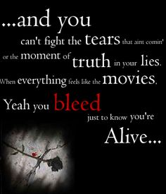 Iris - Goo Goo Dolls__Greatest love song of our generation. Such epic poetic lines.