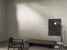 Kerakoll Design House : Set Design 2 | SOL: CEMENTORESINA Résine aspect béton / couleur WR05 - MURS: PATINA / couleur WR03
