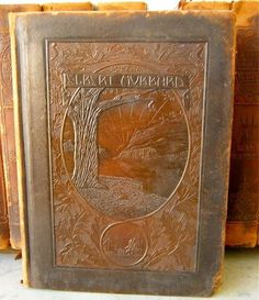 Arts and Crafts Movement Elbert Hubbard Leather Books Roycrofters 1916
