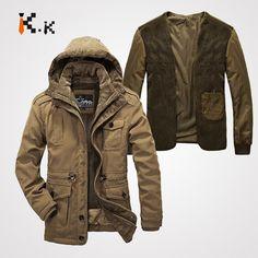 Высокое качество бренд загущающие свободного покроя хлопка ватник 2015 новинка зимняя куртка мужчины открытый теплая спортивная куртка парки купить на AliExpress