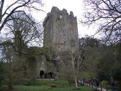 Blarney Stone. I so kissed this. Ireland.
