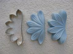 silicone veiner mold   Day Lily Flower - Sunflower Sugar Art