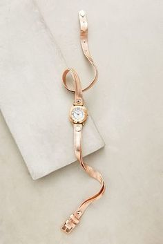 La Mer Rosegold Watch #anthroregistry #holidaygifts