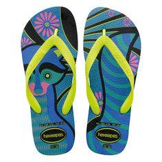 Sandálias Havaianas Fiesta Azul - havaianas