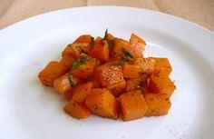 Dýně s rozmarýnem / butternut squash with rosemary, quick side dish