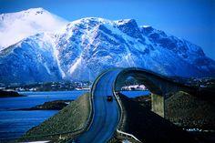Favorite Places and Spaces - Atlantic Ocean Road, Norway Beautiful Roads, Beautiful Landscapes, Beautiful Places, Beautiful Norway, Beautiful Waterfalls, Amazing Places, Beautiful Pictures, Atlantic Road Norway, Atlantic Ocean
