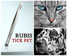 Richtige Zeckenentfernung bei Haustieren - mit der Rubis Zeckenpinzette