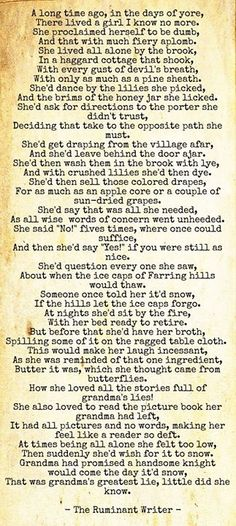 The Ruminant Writer