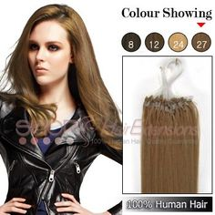 Micro Loop Ring Human Hair Extensions