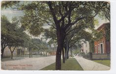 Vintage Postcard 1907 Mobile,Ala. postmark. 13 Star Flag cancel Published by International Post Card Co. No.650 Made in Germany Item #1272