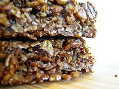 Molasses Ginger Granola Bars   The Spiced Life