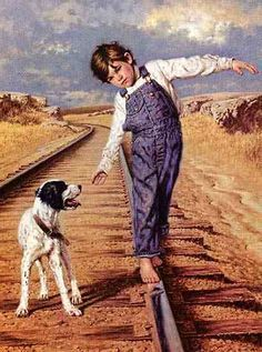 Painting...Walking the Rails  Limited Edition Artist Proof  by Jim Daly                                                                                                                                                                                                                                                                                           7 Repins                                                                                                             1 like