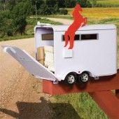 Horse Trailer Mailbox