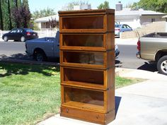 """5 stack""""D"""" with drawer-Globe Wernicke  / SOLD"""
