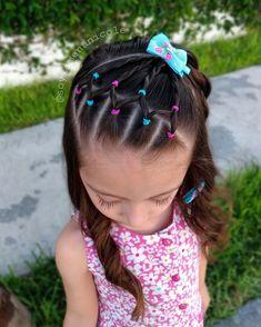 hairstyles little girls easy simple Easy Toddler Hairstyles, Easy Little Girl Hairstyles, Girls Hairdos, Natural Hairstyles For Kids, Cute Girls Hairstyles, Work Hairstyles, Braided Hairstyles Updo, Baddie Hairstyles, Pretty Hairstyles
