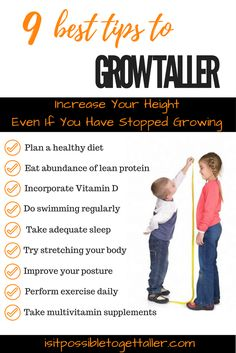 Find out 9 + Tips To Get Taller Naturally. Subscribe To Get Taller Fast Course Now. Get taller instantly! Grow taller by 2, 3, 4, 5 inches in height, height increase
