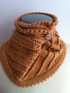 A Hug for your Neck!  Would be great for the Road to China Light yarn I've got. Sport yarn.