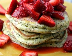 Breakfast - Lemon Poppyseed Pancakes