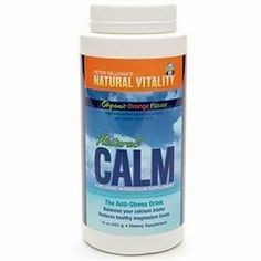 Natural Vitality Natural Calm Orange, 16 Ounce by Peter Gillham's Natural Vitality. $24.94. the product is not eligible for priority shipping