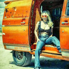 "pepeputasos: ""Hop in, let's have a good time! #goodtimesmachine #vannin #vanning #vanporn #chevy #chevyvan #mine #vanbabe #vanbabes """